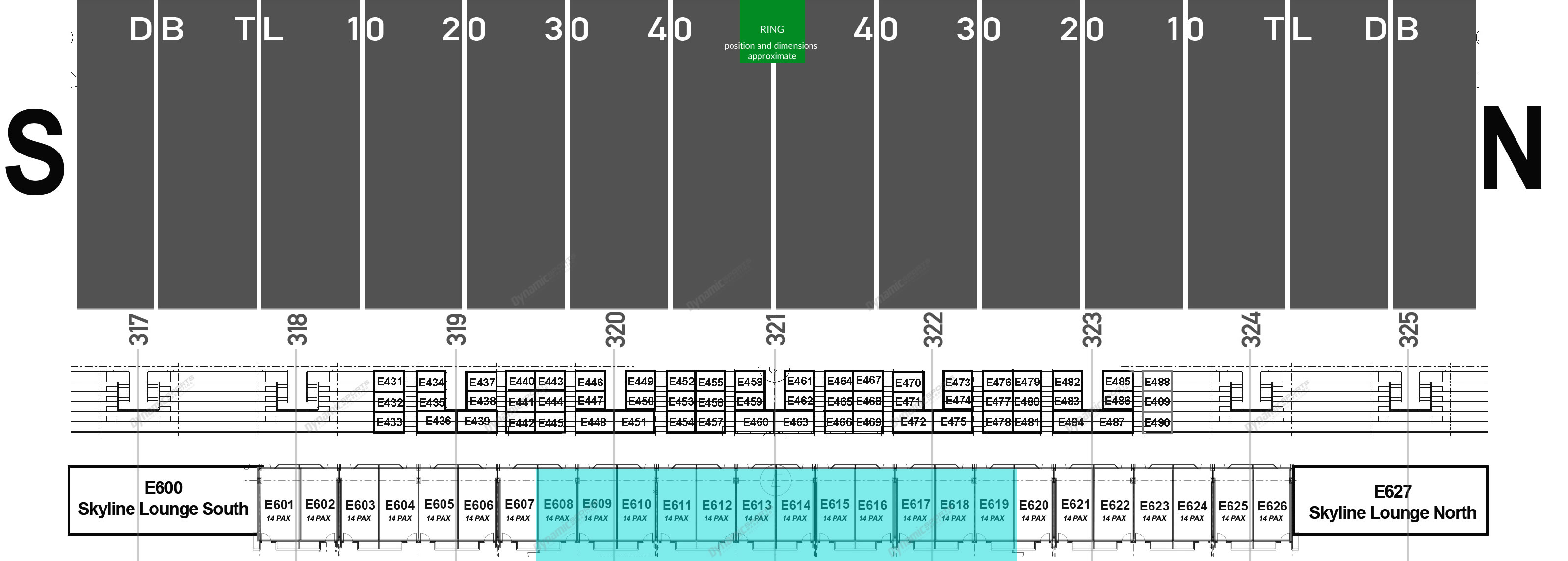 Seating Map