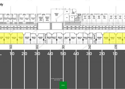 Map - Suite - West - GOLD - 20 Seater