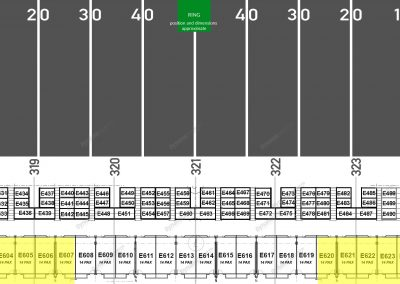Map - Suite - East - GOLD - 14 seaters