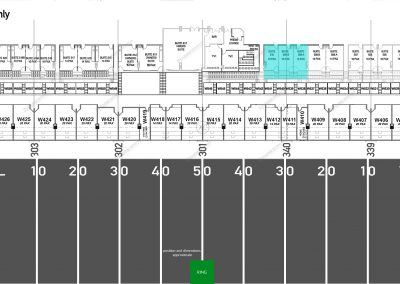 Map - Suite - West - DIAMOND - 10 Seater